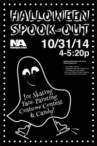 Newington Arena Spook Out Skate Party