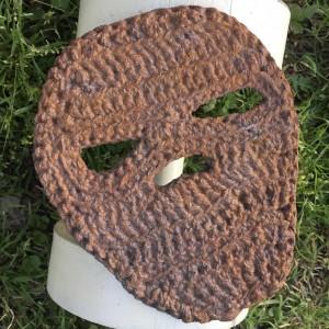 Crochet Iron Mask